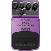 Behringer BOD 400 BASS OVERDRIVE фото