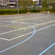 Резиновые полы и спортивные покрытия. фото