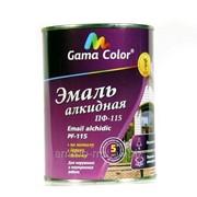 Эмаль светло серая ПФ-115 Gama-color (0,9кг) фото