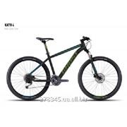 Велосипед GHOST Kato 4 black/green/blue_S, 16KA3744 фото