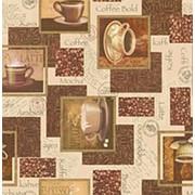 Клеенка столовая Верона ПВХ на нетканой основе, 1,37*25м, SJ424D фото