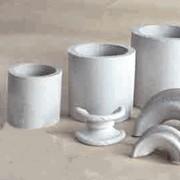 Насадки кислотоупорные, Насадки керамические кислотоупорные, кольца Рашига, Инталокс фото