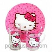 Детский набор Luminarc HELLO KITTY sweet pink H5483 3 единицы фото