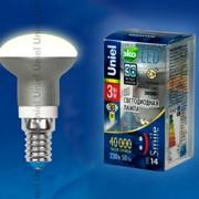 Лампа ALUMINIUM SMILE серия LED-R39-3W/WW/E14/FR ALS01SL фото