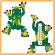 Термометр оконный лягушка фото
