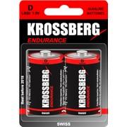 Алкалиновые батарейки Krossberg Endurance - D size фото