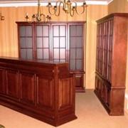 Мебель и элементы интерьера для кафе иресторанов из дуба, бука, ясеня фото