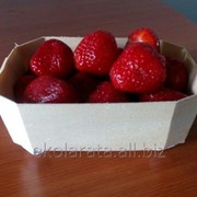 Корзинки из шпона для ягод, овощей и фруктов фото