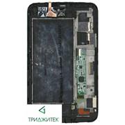 "Модуль (матрица и тачскрин в сборе) для планшета Samsung Galaxy Tab 3 с рамкой 7.0"" SM-T211 black фото"
