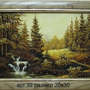 Пейзаж из янтаря 39 фото