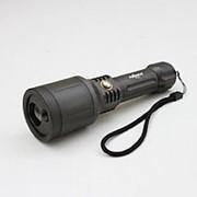 Уникальный яркий фонарь лазер 2в1 Pailide 3501 фото