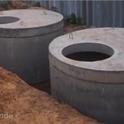Кольца колодцев канализации и водоснабжения, крышки, днище фото