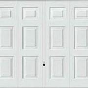 Гаражные подъемно-поворотные ворота Berry мотив 971 фото