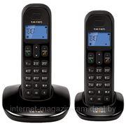 Телефонный аппарат стандарта DECT teXet TX-D6805А DUO Black фото