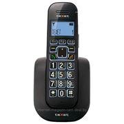 Телефонный аппарат стандарта DECT teXet TX-D8405А Black фото