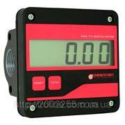 Електронний лічильник MGE 110 для дизельного пального та масла, 5-110 л/хв, +/-0,5%, Іспанія фото