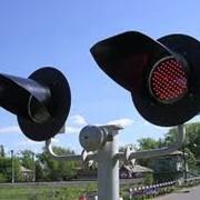 Переездные линзовые светофоры (ламп./светодиоды) фото