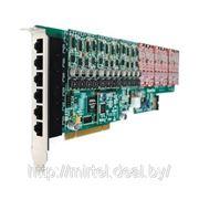 OpenVox A2410P VOIP плата, 24 портовая аналоговая PCI фото