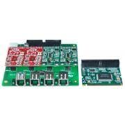 OpenVox A400M VOIP плата, 4-ёхпортовая аналоговая мини PCI фото