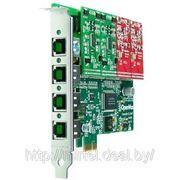 OpenVox A400E VOIP плата, PCI express 1.0 фото
