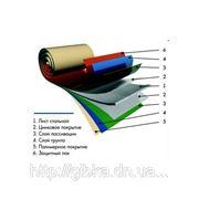 Гладкий лист окрашенный с полимерным покрытием фото