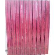 Профнастил для забора цвет: дерево Вишня. 1,5мХ1,17м , покрытие PRINTECH фото
