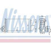 Радиатор печки PEUGEOT (пр-во Nissens) фото