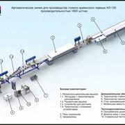 Автоматическая линия для производства пшеничного ролла АЛ-120 фото