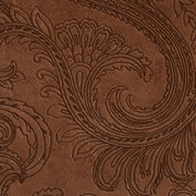 Ткань мебельная Флок Paisley Toffee фото
