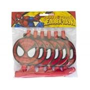 Язык-гудок Marvel Человек-Паук 6шт G фото