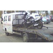 Эвакуация мото-техники (скутеры, макси скутеры, мотоциклы, квадроциклы) имеется опыт перевозок фото