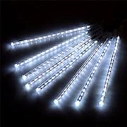Светодиодная гирлянда - Тающие сосульки, 8 шт, 50 см, синий фото