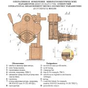 Оперативное измерение микрогеометрических параметров (шероховатости) ответстий OPERATIONAL MEASUREMENT MICRO-GEOMETRIC PARAMETERS (ROUGHNESS) HOLES . Разработка изготовление. фото