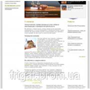 Сайт для консалтингового агентства фото