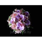 Свадебный букет Дикая орхидея фото
