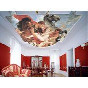 Художественная роспись стен, интерьера, мебели. Роспись стен, потолков, фреска, витраж. фото