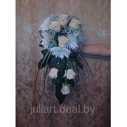 Свадебный букет Каскадный букет фото