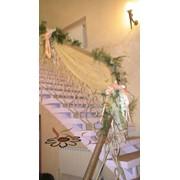 Декор тканями и флористика, подбор декоративных тканей фото