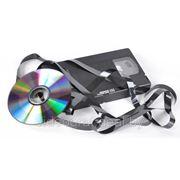 Оцифровка видеокассет (VHS) на DVD фото