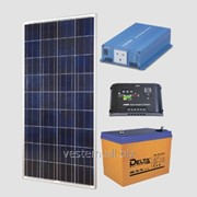 Автономная солнечная энергосистема Санни (уст.P=150Вт, ном.P=600Вт, 75Ач) фото