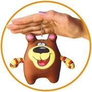 "Антистрессовая игрушка-брелок ""Медведь"" фото"