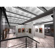 Изготовление выставочных залов, музейное и выставочное оборудование фото