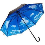 """Зонт-трость """"Небо с облаками"""" фото"""