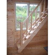 Лестница для бани, летнего домика фото