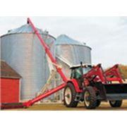 Транспортер зерна шнековый высотный ТШВ фото