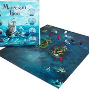 Игра настольная детская Морской Бой фото