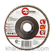 Диск шлифовальный лепестковый Intertool BT-0203 фото
