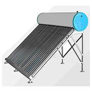 Солнечные вакуумные водонагреватели фото