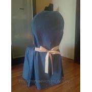 Чехлы на стулья. Пошив чехлов на стулья. Большой выбор ткани и расцветок. Домашний текстиль. фото