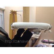 Чехол для стула с атласной лентой фото